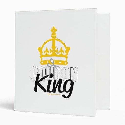 Coupon King Binder
