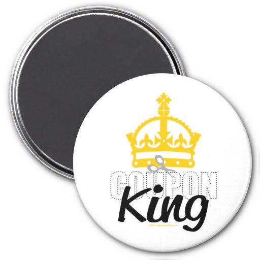 Coupon King Fridge Magnets