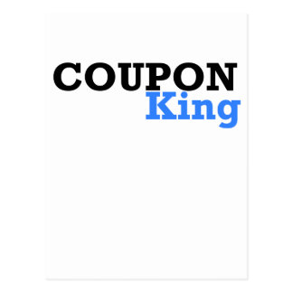 COUPON KING.png Postcard
