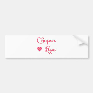Coupon Love 2.png Bumper Sticker