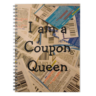 Coupon Spiral Notebooks