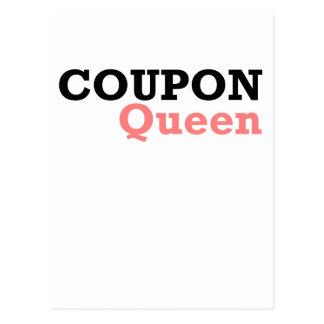 COUPON QUEEN2.png Postcard