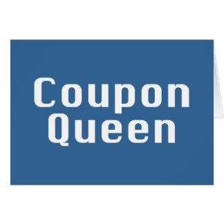 Coupon Queen Gifts Card