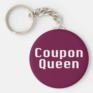 Coupon Queen Gifts Keychain
