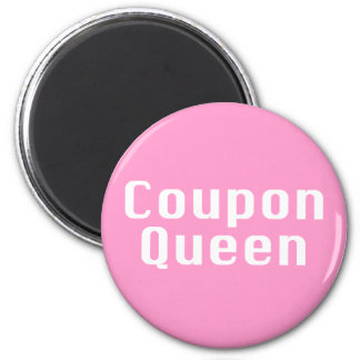 Coupon Queen Gifts Magnet