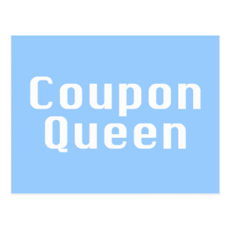 Coupon Queen Gifts Postcard
