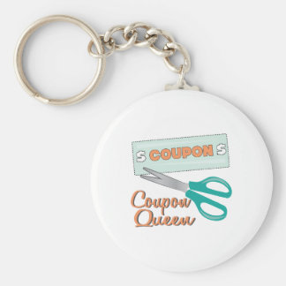 Coupon Queen Key Chains