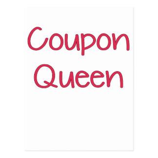 Coupon Queen.png Postcard