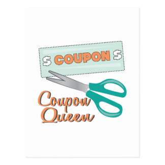 Coupon Queen Post Card