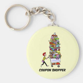 coupon shopper key chains