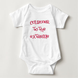COUPONER TO THE EXTREME.png Baby Bodysuit