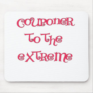 COUPONER TO THE EXTREME.png Mouse Pad