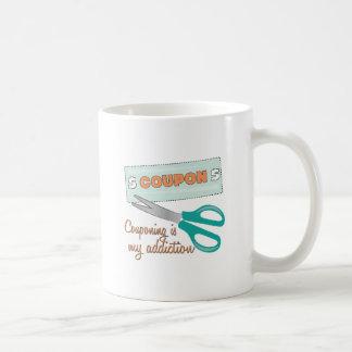 Couponing Is My Addiction Coffee Mug