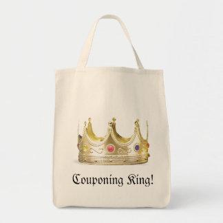 Couponing King Tote Bag