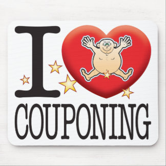 Couponing Love Man Mouse Pad
