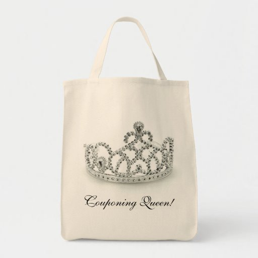 Couponing Queen Tote Bags