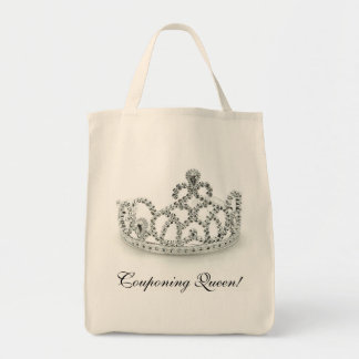 Couponing Queen Grocery Tote Bag