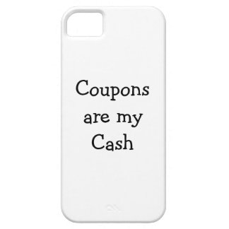 Coupons are my Cash Iphone Skin iPhone SE/5/5s Case