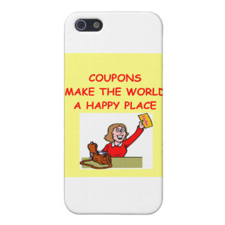 COUPONS COVER FOR iPhone 5