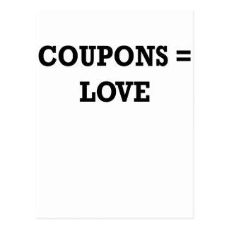 Coupons equal love.png postcard