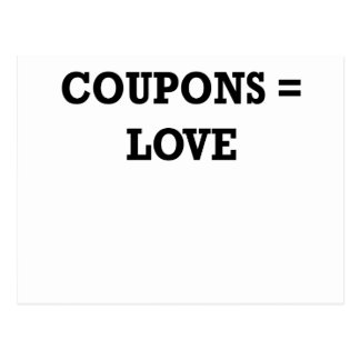 Coupons equal love.png postcard