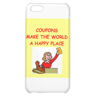 COUPONS iPhone 5C COVER