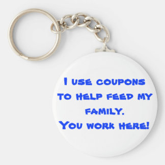 Coupons Key Chain