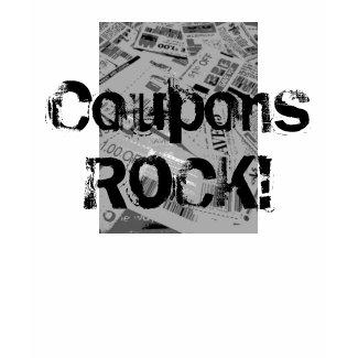 Coupons Rock! shirt