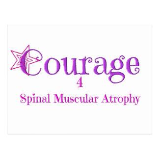 Courage 4 SMA - Star 1 Postcard