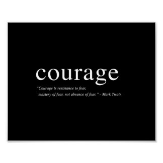 Courage - 8 x10 Art Print