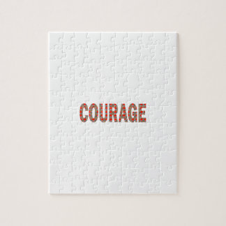COURAGE: Brave Kind Leader Champion LOWPRICES GIFT Jigsaw Puzzle