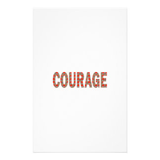 COURAGE: Brave Kind Leader Champion LOWPRICES GIFT Stationery