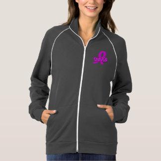 Courage Breast Cancer California Fleece Jacket