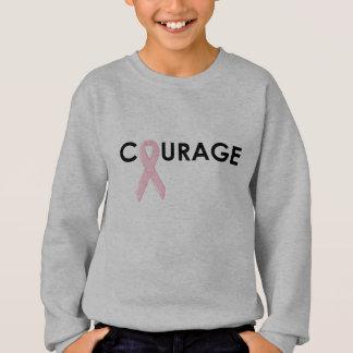 Courage Breast Cancer Ribbon Sweatshirt
