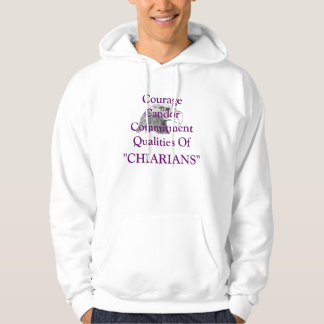 Courage-Candor  & Commitment Hoodie