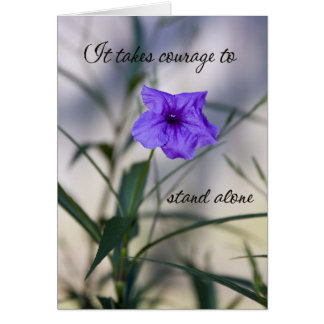 Courage Card