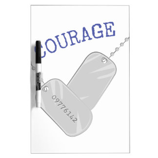 Courage Dry-Erase Board