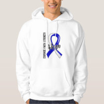 Courage Faith Hope 5 ALS Hoodie