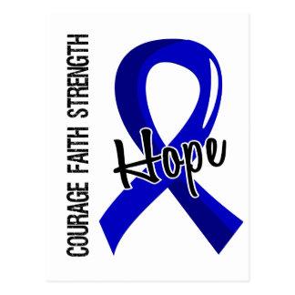 Courage Faith Hope 5 Ankylosing Spondylitis Postcard
