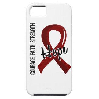 Courage Faith Hope 5 Brain Aneurysm iPhone SE/5/5s Case