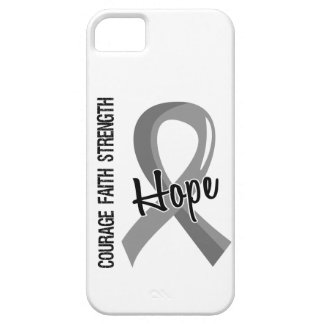 Courage Faith Hope 5 Brain Cancer iPhone 5 Case