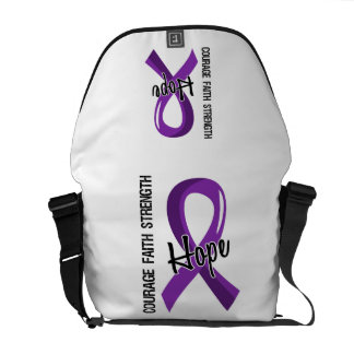 Courage Faith Hope 5 Chiari Malformation Messenger Bag
