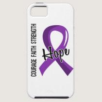 Courage Faith Hope 5 Crohn's Disease iPhone SE/5/5s Case