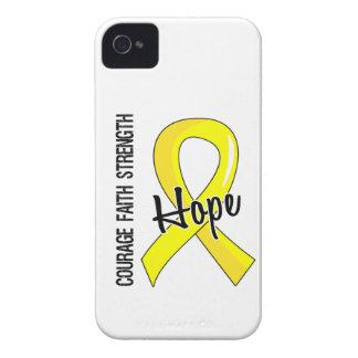 Courage Faith Hope 5 Endometriosis iPhone 4 Case