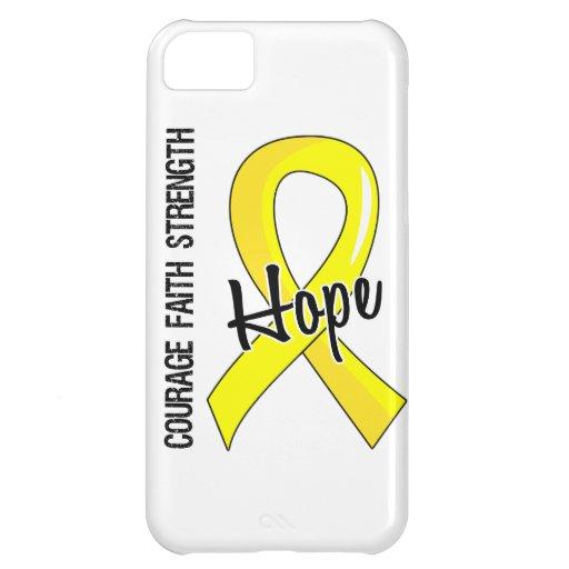 Courage Faith Hope 5 Endometriosis iPhone 5C Cases