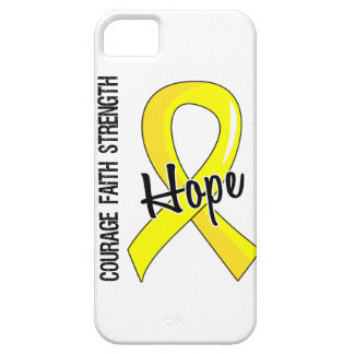 Courage Faith Hope 5 Endometriosis iPhone SE/5/5s Case