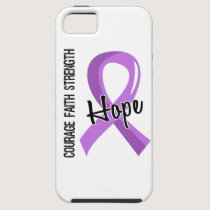 Courage Faith Hope 5 General Cancer iPhone SE/5/5s Case