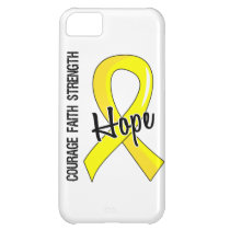 Courage Faith Hope 5 Hydrocephalus Cover For iPhone 5C