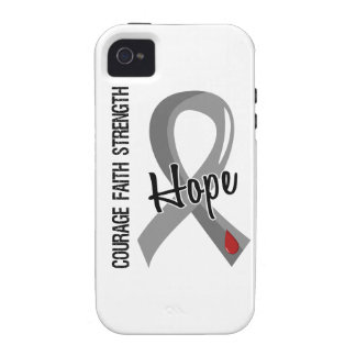 Courage Faith Hope 5 Juvenile Diabetes Case-Mate iPhone 4 Cover