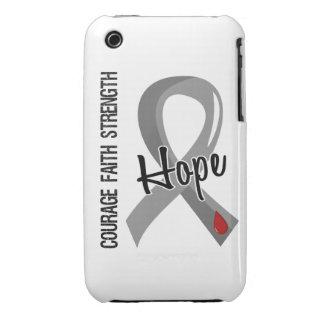 Courage Faith Hope 5 Juvenile Diabetes iPhone 3 Case-Mate Case